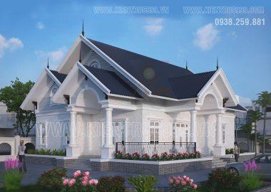 Nhà một tầng đẹp mạnh mẽ vững chãi ở Long An