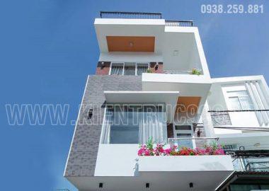 Xây nhà đẹp quận 9 những hình ảnh hoàn thành ngôi nhà anh Tám.