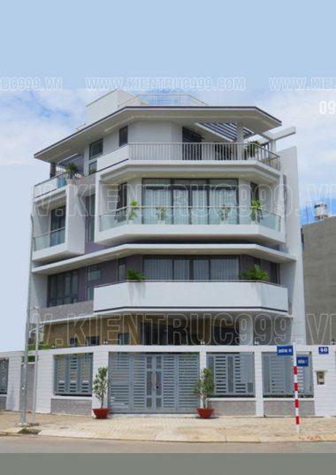 10 thiết kế nhà phố 2 mặt tiền đẹp vát góc- nhà góc phố cao 4 tầng- mẫu nhà góc đường đốn tim người xem.