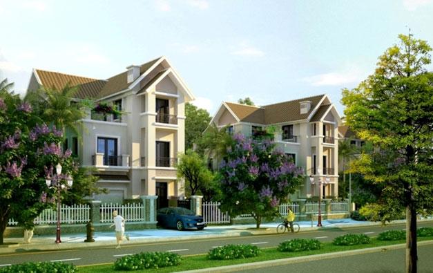 Thiết kế biệt thự đẹp 3 tầng Vincom Village đẳng cấp