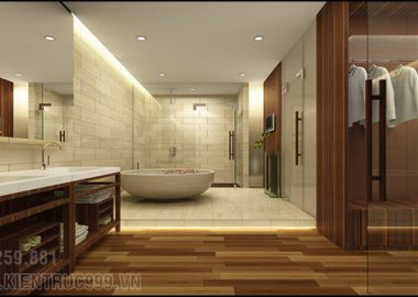 Mẫu phòng vệ sinh tuyệt đẹp ai cũng muốn sở hữu.