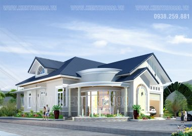 Biệt thự đẹp 1 tầng- Chi Thường- Đồng Nai