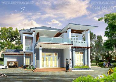 Thiết kế nhà đẹp- biệt thự đẹp tại thủ phủ cafe Buôn Mê