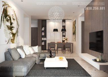 Hoàn thành thiết kế và thi công nội thất căn hộ đẹp quận Tân Phú.