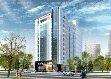 Thiết kế tòa nhà văn phòng tổng công ty công nghiệp Sài Gòn- Quận 4 - TP.HCM