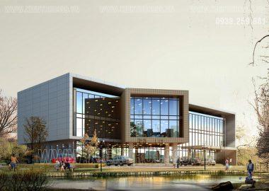 BST các thiết kế nhà văn phòng 3 tầng đẹp nhất.