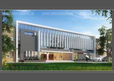 Thiết kế văn phòng điều hành công ty nhà xưởng Đồng Nai